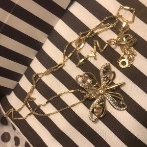 Sale HB Reversible Butterfly Necklace nwot